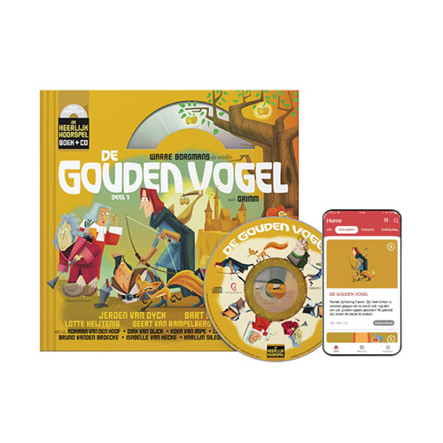8 De gouden vogel (9+) (Boek + CD)