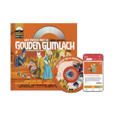9 Het meisje met de gouden glimlach (9+) (Boek + CD)