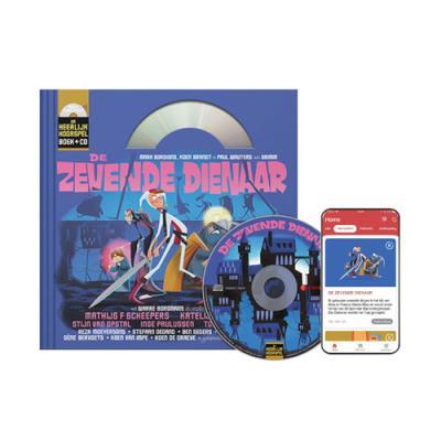 10 De zevende dienaar (9+) (Boek + CD)