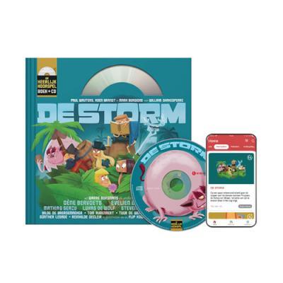 11 De storm (10+) (Boek + CD)