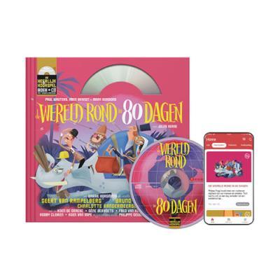 12 De wereld rond in 80 dagen (10+) (boek met cd en downloadcode voor smartphone en tablet)