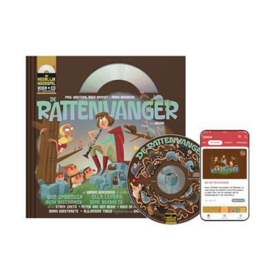 13 De rattenvanger (10+) (boek met cd en downloadcode voor smartphone en tablet)