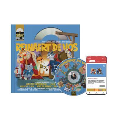 14 Reinaert de Vos (10+) (boek met cd en downloadcode voor smartphone en tablet)