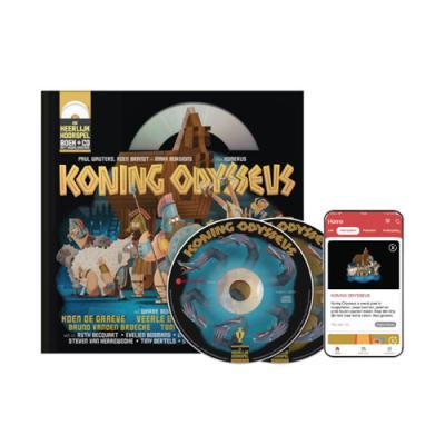 15 Koning Odysseus (10+) (boek met cd en downloadcode voor smartphone en tablet)