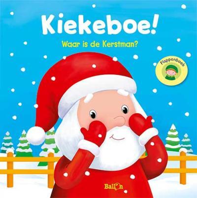 Kiekeboe! Waar is de Kerstman?