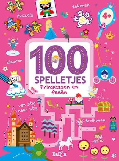 100 spelletjes – Prinsessen en feeën