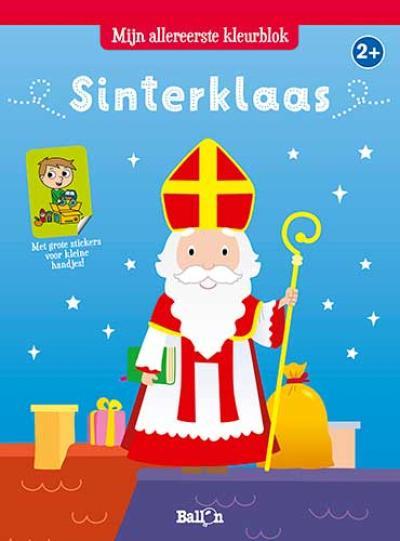 Sinterklaas: Kleurblok met stickers