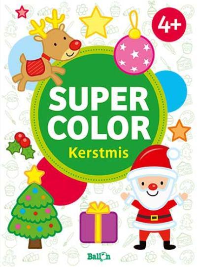 Super color Kerstmis