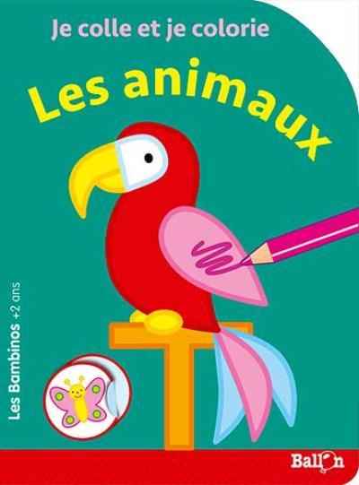 Les Bambinos – Coller et colorier – Les animaux