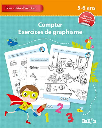 Compter + Exercices de graphisme