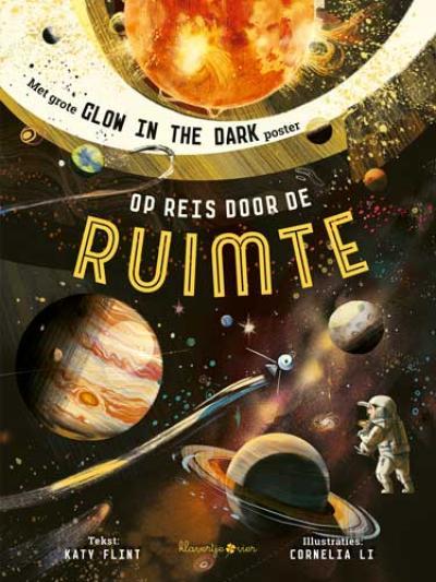 Op reis door de ruimte – met grote glow in the dark poster