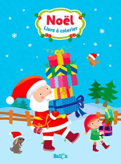 Livre à colorier Noël