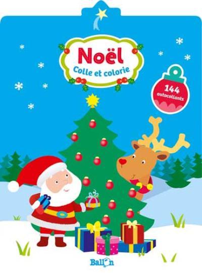 Colle et colorie Noël