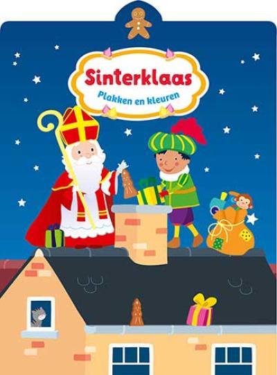 Sinterklaas plakken en kleuren