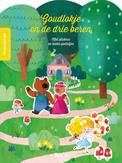 Sprookjesstickerboek Goudlokje en de drie beren