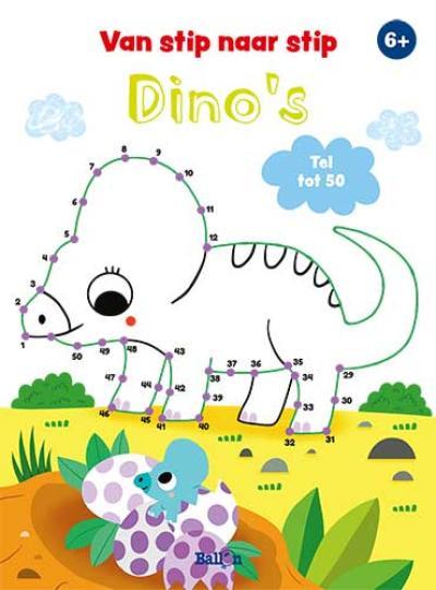 Van stip naar stip tot 50 – Dinosaurussen