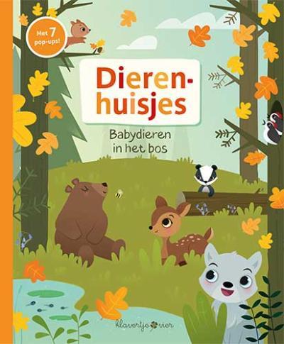 Babydieren in het bos