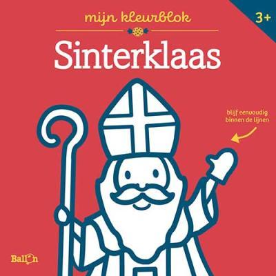 Sinterklaas – kleurblok Junior (dikke lijnen)