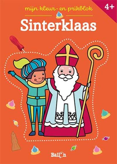 Sinterklaas – kleur- en prikblok