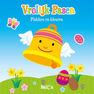 Vrolijk Pasen – kleuren en plakken