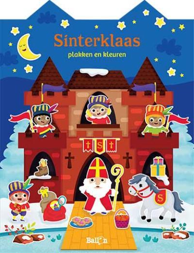 Sinterklaas – Stickerboek huisjesreeks