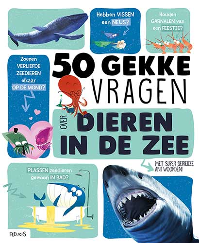 50 gekke vragen over dieren in de zee