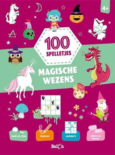 100 spelletjes – Magische wezens