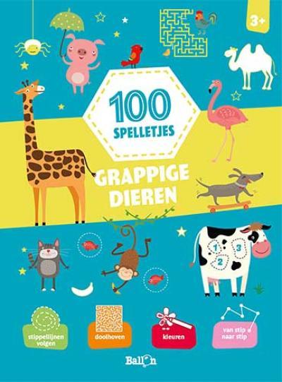 100 spelletjes – Grappige Dieren
