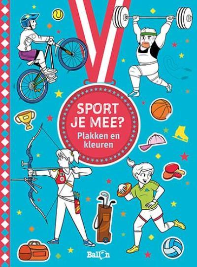 Sport je mee? Plakken en kleuren