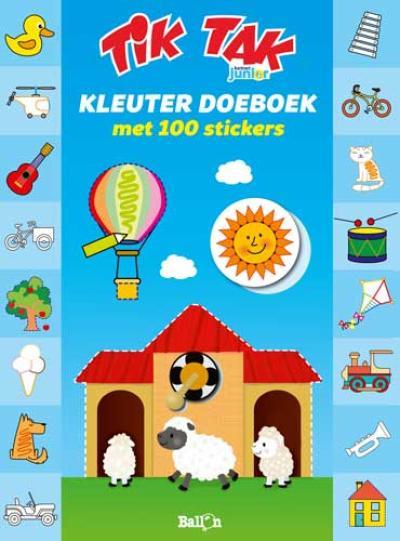 Tik Tak – Kleuterdoeboek met 100 stickers