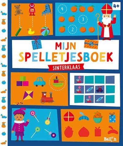 Mijn spelletjesboek – Sinterklaas