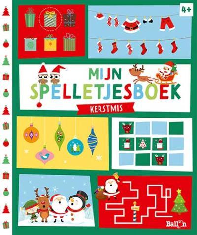 Mijn spelletjesboek – Kerstmis