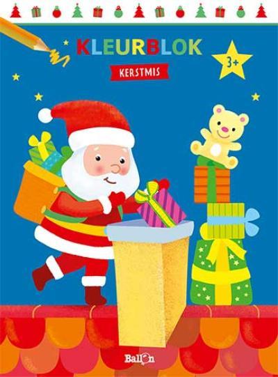 Kleurblok Kerstmis
