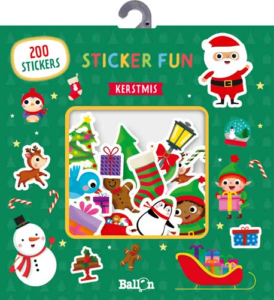 Sticker Fun – Kerstmis