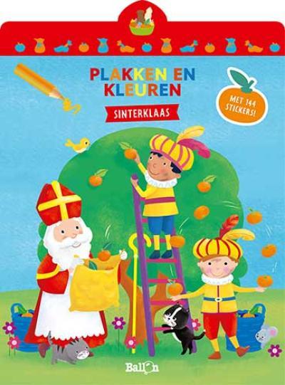 Sinterklaas: Plakken en kleuren