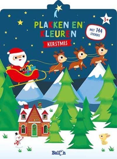 Kerstmis – Plakken en kleuren
