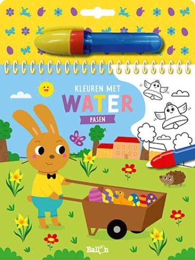 Kleuren met water – Pasen