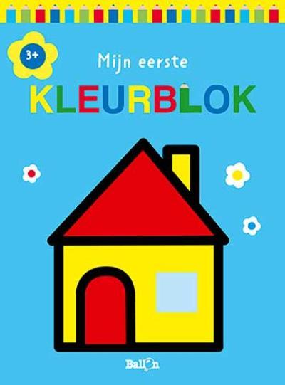 Mijn eerste kleurblok 3+ (huis)