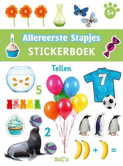 Stickerboek tellen 5+