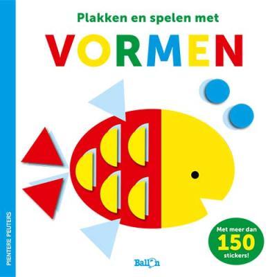 Vormen (stickerboek)
