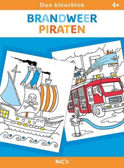 Brandweer en piraten
