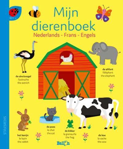 Mijn dierenboek – Nederlands, Frans, Engels