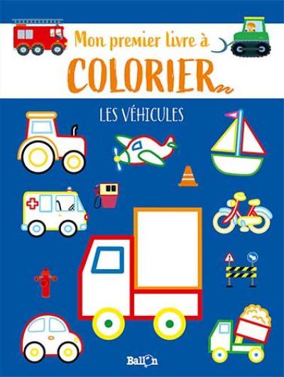 Les p'tits canards coloriages – Les véhicules