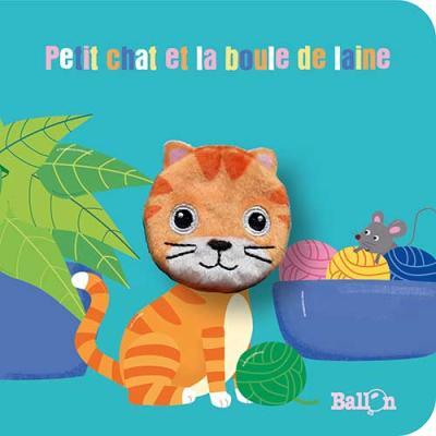 Livre marionnette : Petit chat et la pelote de laine