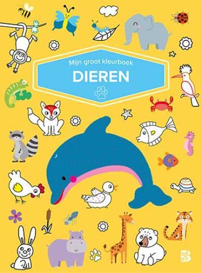 Mijn groot kleurboek – Dieren