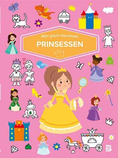 Mijn groot kleurboek – Prinsessen