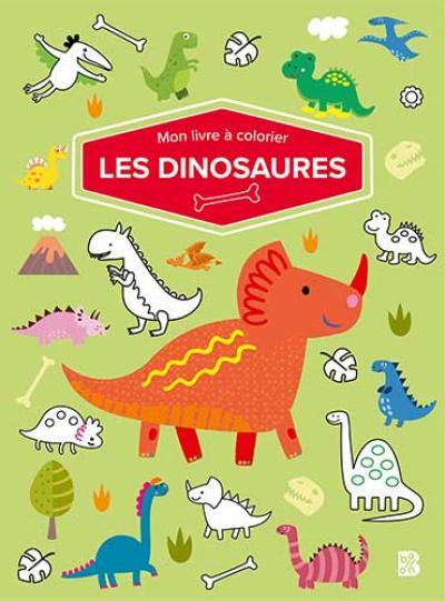 Mon livre à colorier – Les dinosaures