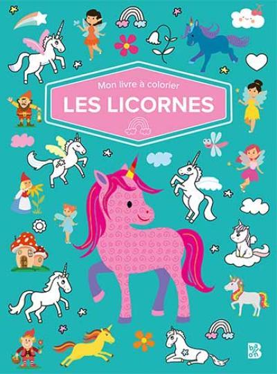 Mon livre à colorier – Les licornes