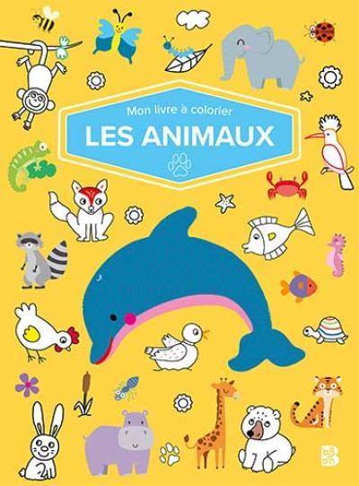 Mon livre à colorier – Les animaux