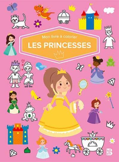 Mon livre à colorier – Les princesses